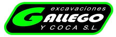 Logo Excavaciones Gallego y Coca SL